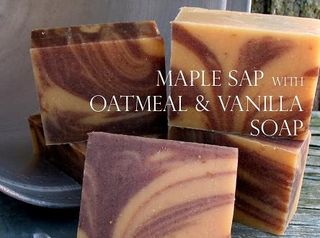 Maple sap vanilla soap for CC