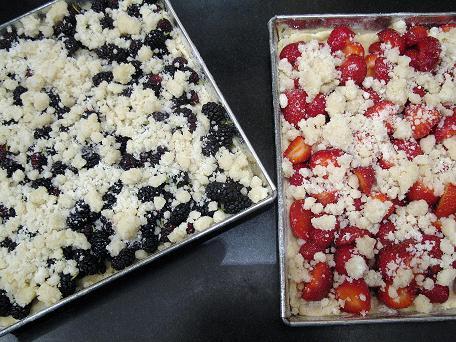 Mulberry kuchen