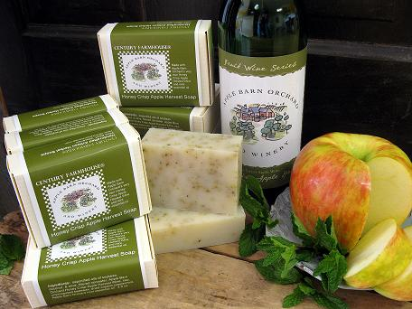 Apple Barn Apple Wine soap 2 web