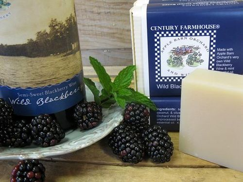 Apple Barn blackberry wine soap 2 web