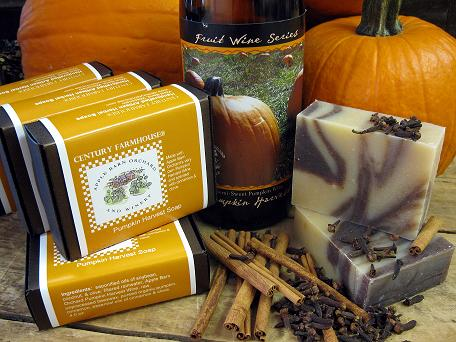 Apple Barn pumpkin soap 4 web