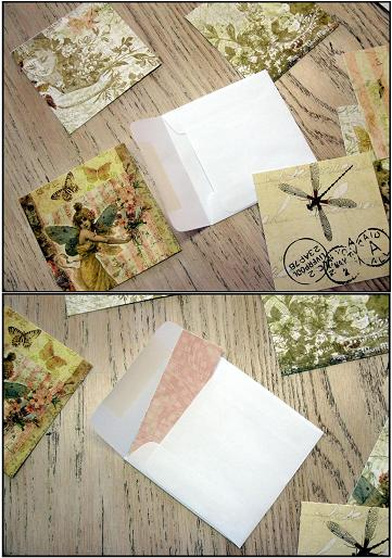Envelope cards paper choices single web