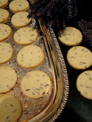 Lavender butter cookies 2012