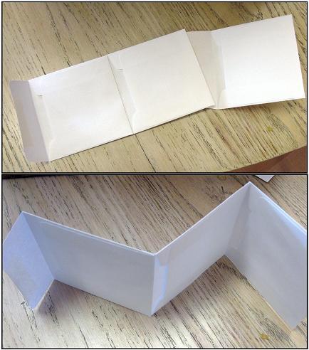 Envelope card multiple views web