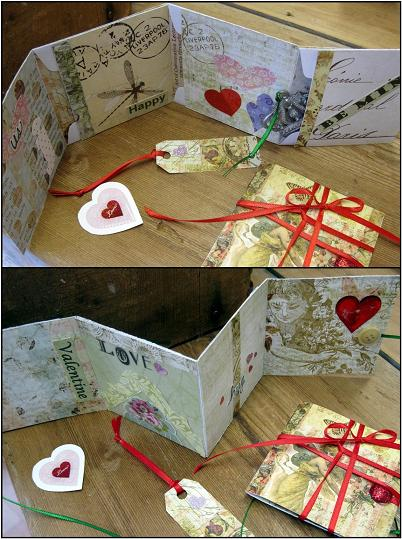 Envelope card multiple views complete web