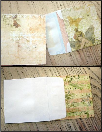 Envelope card paper choices interior exterior web