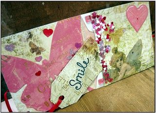 Envelope card single finished web