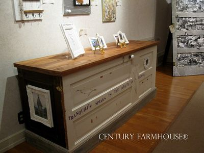 Century Farmhouse cupboard at museum