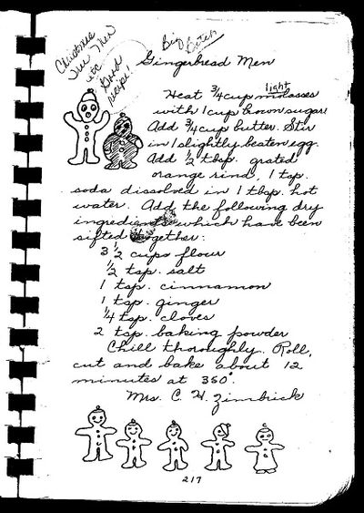 Gingerbread recipe web