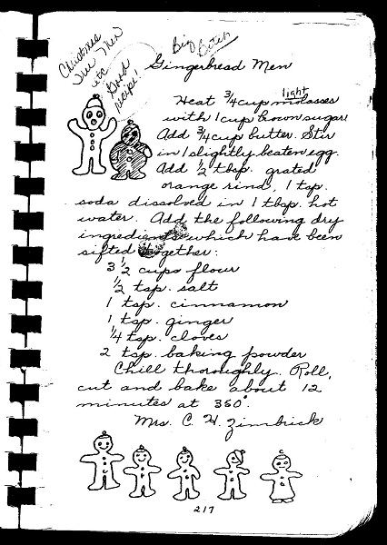 Gingerbread recipe web